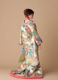 色打掛   和装   奈良の貸衣裳・結婚式・二次会 アトリエステディ
