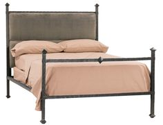 Stone County Ironworks 904-412-FDB Forest Hill Iron Bed Full