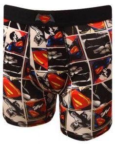 WebUndies.com Batman V Superman Dawn Of Justice Performance Wear Boxer  Brief Superman Dawn Of b585098eb78d