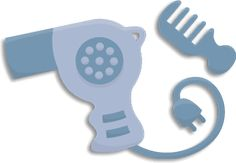 Free SVG File – Sure Cuts A Lot – 09.22.11 – Hair Dryer