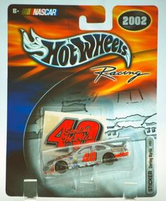 2002 - Mattel / Hot Wheels Racing - NASCAR - Sterling Marlin #40 - Sticker Series - Dodge Intrepid - (Coors Light) - 1:64 Scale Die Cast Stock Car - New - Limited Edition - Collectible by Mattel. $14.99. Sterling Marlin #40 - Sticker Series. Dodge Intrepid - Out of Production. 2002 - Mattel / Hot Wheels Racing - NASCAR. New - Limited Edition - Collectible. 1:64 Scale Die Cast Stock Car. 2002 - Mattel / Hot Wheels Racing - NASCAR - Sterling Marlin #40 - Sticker Series...