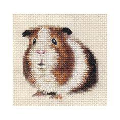 Cross-stitch Guinea Pig, part 1