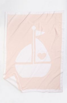 sailboat baby blanket