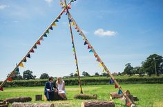 glastonbury 2 - Read More on One Fab Day http://onefabday.com/favourite-festival-style-real-weddings/
