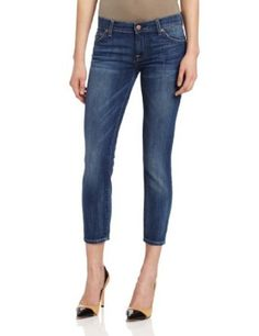 7 For All Mankind Women's Crop Roxanne :	$178.00 & FREE Shipping
