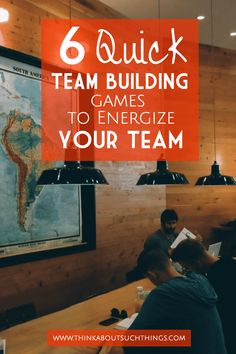 """Are you in need of some easy and quick team building games? These 6 game will jump start your next meeting or group time! #teambuilding #groupgames #ministry #leadership #teams #business #youth"""" data-pin-url="""