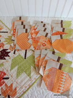 Pumpkin Quilt Blocks   A Quilting Life - a quilt blog