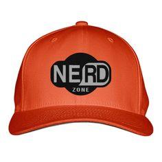 Nerd Zone Embroidered Baseball Cap