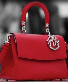 Authentic Designer Handbags As A Gift - Dior Purse - Ideas of Dior Purse - Dior-Marie Mimrandeep red handbag Dior Purses, Dior Handbags, Handbags On Sale, Fashion Handbags, Purses And Handbags, Fashion Bags, Leather Handbags, Ladies Handbags, Leather Purses