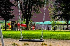 Parc de l'OTJ Porch Swing, Outdoor Furniture, Outdoor Decor, Home Decor, Art, City, Art Background, Kunst, Interior Design