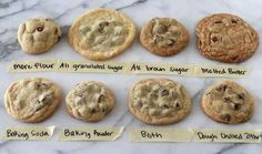 Different Chocokate Chip Cookies recipe