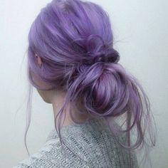 pastel purple hiar
