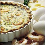 From the Fancy Quiche Breakfast Recipe Collection. An elegant quiche for any meal from the Canadian Egg Marketing Agency as found in the book Entertaining With Eggs.