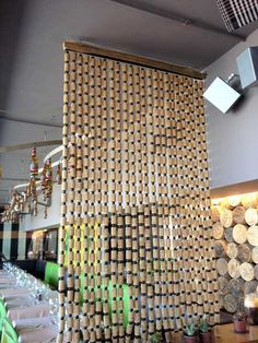 Wine Cork Art, Wine Bottle Art, Wine Cork Crafts, Hobbies And Crafts, Crafts To Make, Diy Crafts, Rideaux Design, Wine Cork Projects, Recycling