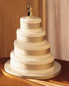 grosgrain ribbon cake