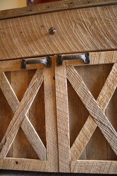 Your Custom Rustic Barn Wood Vanity Or Cabinet With 2 Barn Style Doors