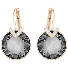 Swarovski Bella V Pierced Earrings, Large, 5353202 | Duty Free Crystal | Duty Free Crystal