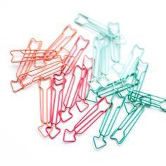 Paper Clips | Warm Arrow Clip Set - OHDEERME