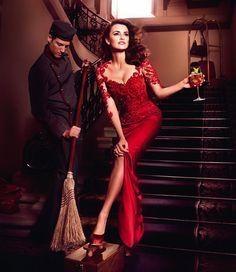 Doce vestidos rojos de fiesta #vestidos #boda #invitadas #penélopecruz