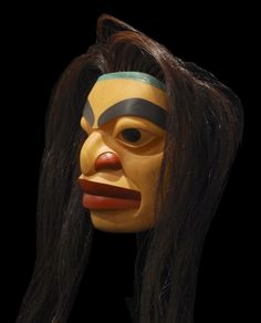 Portrait Mask - Carvings & Sculptures - Artworks