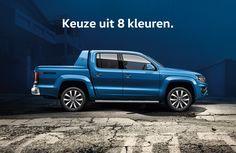 Keuze uit 8 kleuren Vw Amarok, Volkswagen Group, Abs, Trucks, Vehicles, Cars, Pickup Trucks, Crunches, Abdominal Muscles