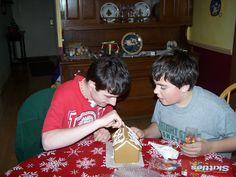 with Brady Christmas 2007