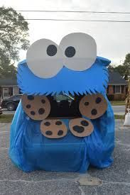 cookie monster trunk or treat - Google Search