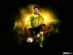 Lionel Messi HD Wallpaper 2014 (yellow) - http://www.wallpapersoccer.com/lionel-messi-hd-wallpaper-2014-yellow.html