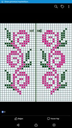 Kawaii Cross Stitch, Cross Stitching, Bookmarks, Embroidery Designs, Knitting Patterns, Tiles, Weaving, Crochet, Sweaters