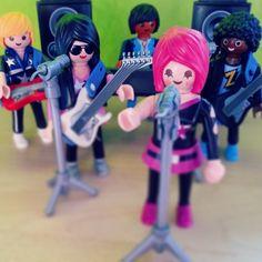 Rocking out #playmobil #rockstars