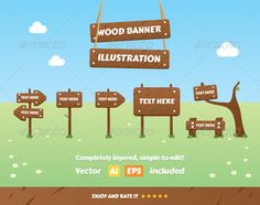 Realistic Graphic DOWNLOAD (.ai, .psd) :: http://sourcecodes.pro/pinterest-itmid-1007694956i.html ... Wood Banner Illustration ...  background, banner, cartel, clouds, flower, illustration, lumber, lumberjack, nature, notice, plant, poster, print, sign, signboard, text, vector, web, wood, wooden, write  ... Realistic Photo Graphic Print Obejct Business Web Elements Illustration Design Templates ... DOWNLOAD :: http://sourcecodes.pro/pinterest-itmid-1007694956i.html