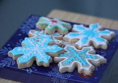 My Kitchen Snippets: Snowflake Sugar Cookies