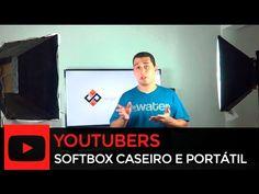 Como fazer softbox caseiro - Portátil