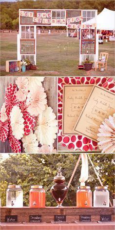 rustic red wedding ideas