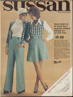 1974 Fashion, 80s Womens Fashion, Diana Fashion, Seventies Fashion, 60s And 70s Fashion, Mod Fashion, Teen Fashion, Vintage Fashion, Sporty Fashion