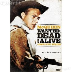 "Imagined - Steve McQueen in TV's ""Wanted: Dead or Alive"" - ... JamesAZiegler.com"