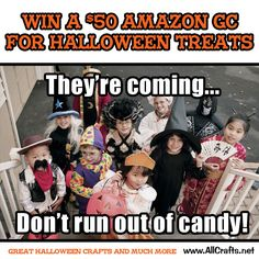 <p>Enter to win a $50 Gift Card for Halloween Treats</p>