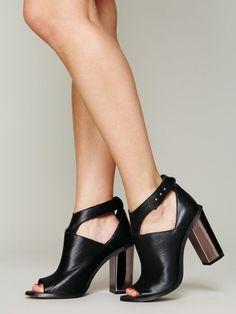 003254dfbc Free People Lilea Cut Out Heel Ankle Strap Heels