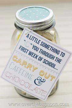 Whipperberry: First Week of School Gift for Teachers