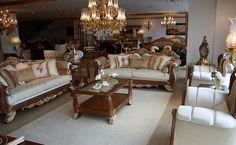 Tamamen doğal ahşaptan elde edilmiş ve birinci sınıf kumaş ve döşeme malzemeleri kullanılmıştır.  http://www.asortie.com/koltuk-120-Defne-Klasik-Koltuk-Takimi