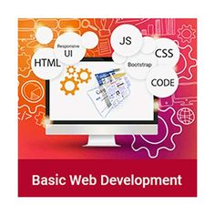 Design and develop web sites like a professional with our internet development course. The course is correct blend of learning modules in HTML JavaScript, CSS and Bootstrap, required for Web Development, Software, Coding, Internet, Learning, Design, Teaching, Education, Programming