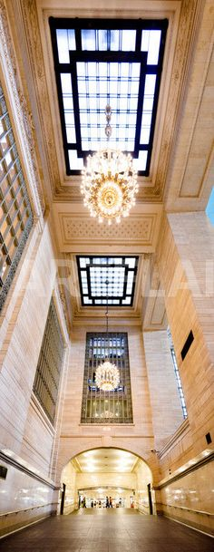 ARTFINDER: Grand Central Terminal by Tom Hanslien - A vertical panoramic of an interior at Grand Central Terminal in New York City, USA. I took this in 2012 on my first visit to New York. It's such an iconic b. Little Italy, Amazing Architecture, Architecture Details, Classic Architecture, A New York Minute, I Love Nyc, Central Station, Concrete Jungle, New York Travel