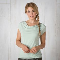 Susurro SS Tee- Another great wear to work top under a cardigan made of 95% lyocell.