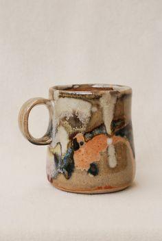8 oz Coffee Cup handmade ceramic cup ceramic by ElenaMadureri, $15.00
