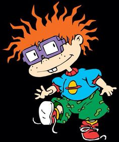 Chuckie from rugrats Nickelodeon Cartoon Characters, Rugrats Cartoon, 90s Cartoons, Comic Book Characters, Chuckie Rugrats, Tupac Wallpaper, Old Cartoon Network, Tumblr Cartoon, Cartoon Drawings Of Animals