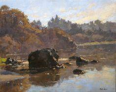 Jim McVicker Paintings: 'Plein Air Paintings, December 2013'