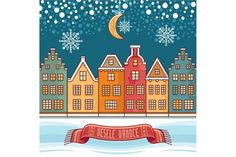 Congratulations on Czech language. Warm wishes for happy holidays. Best for greeting card, promotion. By Zoya Miller Christmas Toys, Christmas Balls, Christmas Decorations, Christmas Greeting Cards, Christmas Greetings, Illustrations, Graphic Illustration, Merry Christmas In French, Happy Holidays Wishes