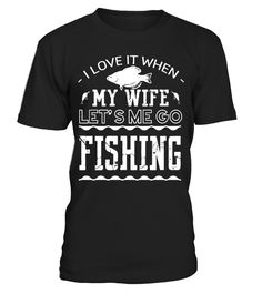 Fishing With My Wife Shirt  #image #shirt #gift #idea #hot #tshirt #fishing #fish