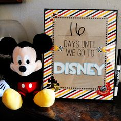 Disney Countdown - created by kv2av featuring Project Mouse by Sahlin Studio & Britt-ish Designs