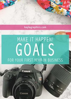 25 Goals for your First Year in Business Free Checklist